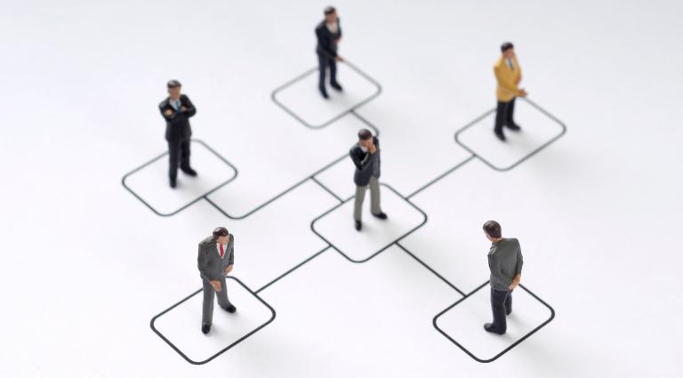 Foto van de organisatiestructuur in combinatie met het verkorten van de doorlooptijd